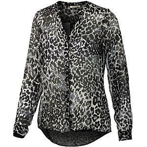 Rich & Royal Langarmbluse Damen schwarz/leopard