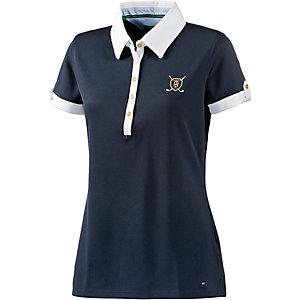 Tommy Hilfiger Meghan SS Polo Poloshirt Damen schwarz