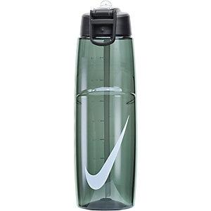 Nike T1 Flow Swoosh Trinkflasche anthrazit/weiß