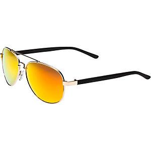 MasterDis Sunglasses Mumbo Mirror Sonnenbrille goldfarben/orange