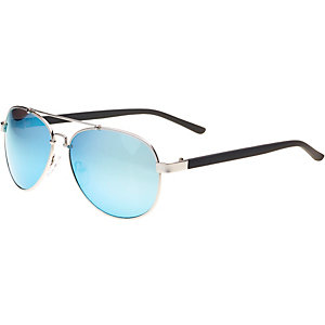 MasterDis Sunglasses Mumbo Mirror Sonnenbrille silberfarben/blau