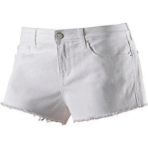 REPLAY Jeansshorts Damen weiß
