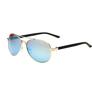 MasterDis Sunglasses Mumbo Mirror Sonnenbrille goldfarben/blau