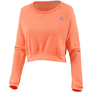 adidas Beyond the Run Laufshirt Damen apricot