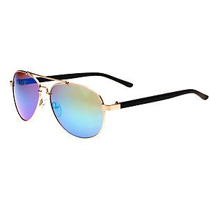 MasterDis Sunglasses Mumbo Mirror Sonnenbrille goldfarben/grün