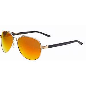 MasterDis Sunglasses Mumbo Mirror Sonnenbrille goldfarben/rot