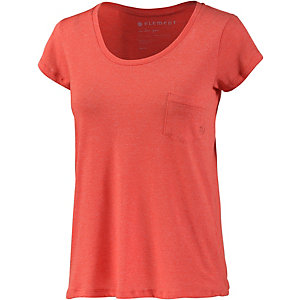 Element Elba T-Shirt Damen koralle