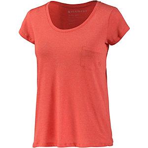 Element Elba T-Shirt Damen koralle
