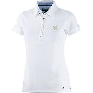 Tommy Hilfiger Meghan SS Polo Poloshirt Damen weiß