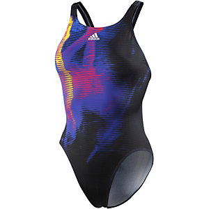 adidas Schwimmanzug Damen schwarz/bunt