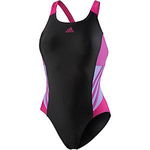 adidas Schwimmanzug Damen schwarz/lila