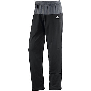 adidas Basemid Trainingshose Herren schwarz