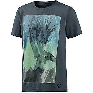 unifit Printshirt Herren grau