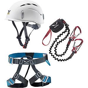 SALEWA Basic Klettersteigset weiß/rot/blau