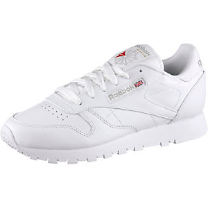 Reebok Classic Leather Sneaker Damen weiß