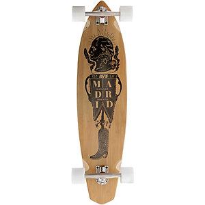 "Madrid Longboard Dude Bamboo 38,75"" President Longboard-Komplettset braun/schwarz"