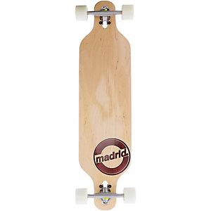 "Madrid Longboard Trance Drop-Thru 39"" Brandmark Longboard-Komplettset braun"