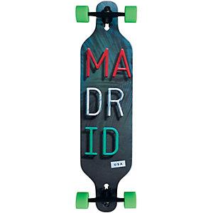 """Madrid Trance 39"""" Miami Basic Top Mount Variant Longboard-Komplettset grau"""