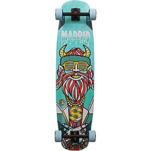 "Madrid Yeti 39"" Yeti Premium Longboard-Komplettset bunt"