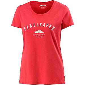 FJÄLLRÄVEN Trekking Printshirt Damen rose