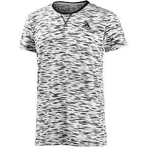 adidas Essentials Premium Funktionsshirt Herren weiß/schwarz