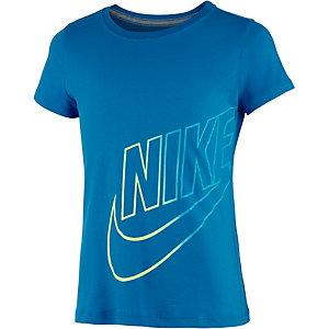 Nike Printshirt Mädchen aqua/gelb/grün