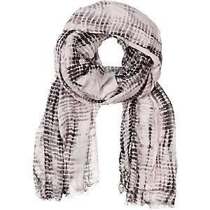 Codello Schal Damen schwarz/weiß