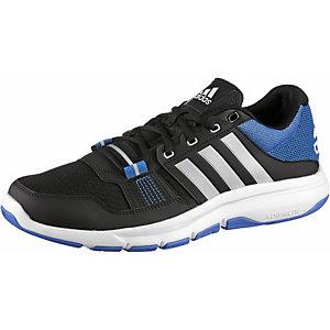 adidas Gym Warrior 2 Fitnessschuhe Herren schwarz/blau