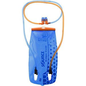 Source Widepac Dvide Trinksystem transparent/blau