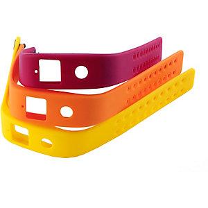 runtastic Orbit Armbänder Fitness Tracker gelb/orange/rot