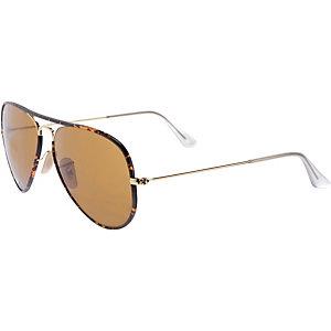 RAY-BAN ORB3025JM 001 58 Sonnenbrille braun