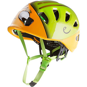 EDELRID Shield II Kletterhelm Kinder orange/grün