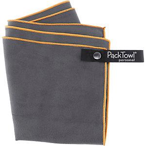 PackTowl Personal Mikrofaserhandtuch dunkelgrau