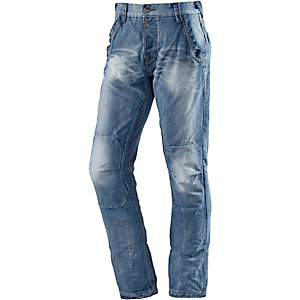 TIMEZONE ChesterTZ Straight Fit Jeans Herren light blue washed