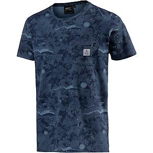WESC Sarek Hawaii Printshirt Herren blau