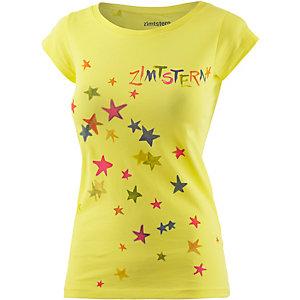 Zimtstern Superstar Printshirt Damen gelb