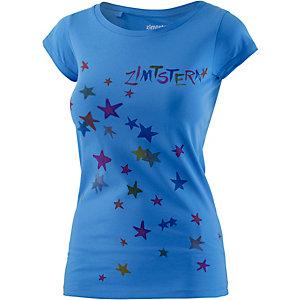 Zimtstern Superstar Printshirt Damen blau