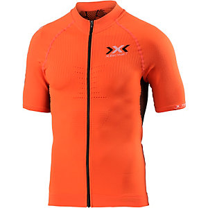 X-Bionic The Trick Biking Shirt Fahrradtrikot Herren orange