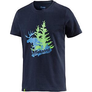 Bergans Elk Printshirt Herren navy