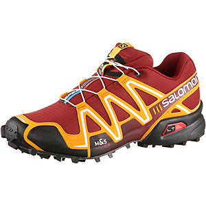 Salomon SPEEDCROSS 3 Laufschuhe Herren rot/orange