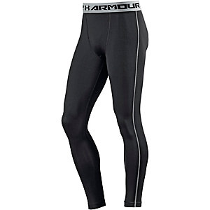 Under Armour Heatgear Armour Compression Kompressionshose Herren schwarz