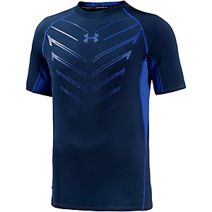 Under Armour Heatgear EXO Kompressionsshirt Herren blau/schwarz