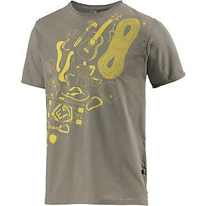 E9 Frid Printshirt Herren grau