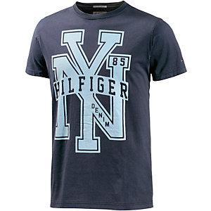 Tommy Hilfiger Federer Printshirt Herren dunkelblau