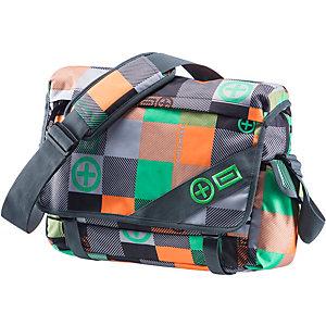 Chiemsee Large PM Umhängetasche grün/orange