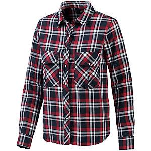 LTB Langarmhemd Damen rot/blau