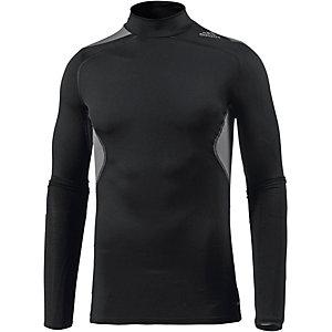 adidas Techfit Cool Funktionsshirt Herren schwarz/grau