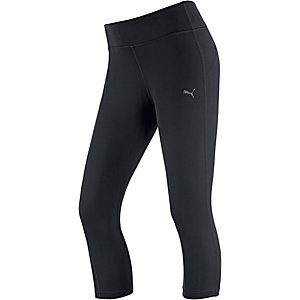 PUMA Essential Tights Damen schwarz