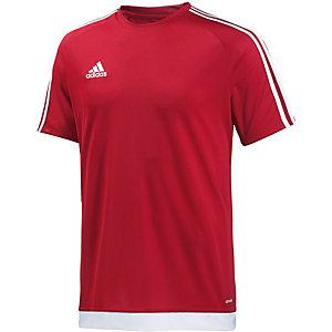 adidas Fußballtrikot Herren rot/weiß