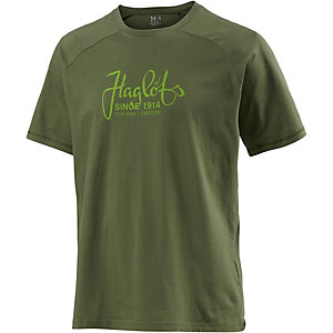 Haglöfs Apex Printshirt Herren grün